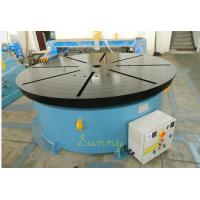 Best Double Turning Small Welding Positioner Turntable 1500mm With 3 Jaws Chuck wholesale
