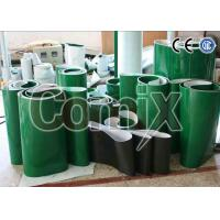 Best Green Smooth Softer PVC Industrial Conveyor Belts With Various Patterns wholesale