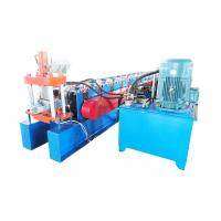 Best Galvanized Steel Door Frame Roll Forming Machine Cr12 Cutter Material wholesale