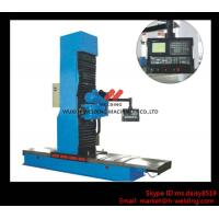 Best Carbon Steel Vertical End Face Milling Machine with Siemens Electric / Mechanical Feeding wholesale