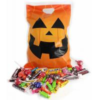 Best Gravure Printing PE PP Halloween Pumpkin Bags 30 Micron For Candy wholesale