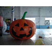 Best Inflatable Vegetable Shaped Balloons , Air Tight 2.5m Inflatable Pumpkin wholesale