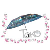 Compact Sun Auto Open Umbrella , Self Opening And Closing Umbrellas Solid Frame