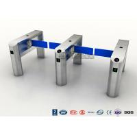 Best TCP / IP Security Electro Lock Door Swing Pedestrian Barrier Gate Turnstyle Fastlane Glass wholesale