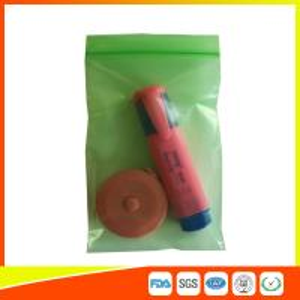 Best Plastic PE Packing Ziplock Bags Antistatic , Air Tight Zip Lock Bags Custom Printed wholesale