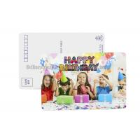 Best Birthday Card 3D Lenticular Postcard Plastic Material / 3d Animal Pictures wholesale