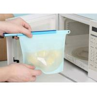 Best Large capacity green kitchen food FDA  Silicone preservation bag wholesale