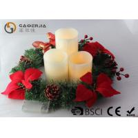 Best 3pk Ivory Wax Decorative Led Candles With Remote Control DL-005 wholesale