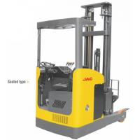Best Narrow Aisle Reach Truck Forklift 1.5 Ton Seated Type For Warehouses / Supermarkets wholesale