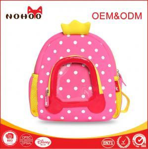 Best Animal Kids School Backpack / Waterproof School bags with Neoprene Material wholesale