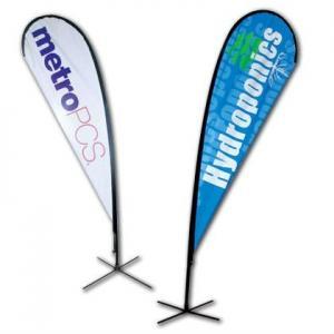 Best No Print Dye Sublimation Digital Printing Fabric Custom Pennants Flag wholesale