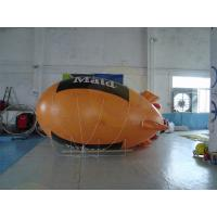 Cheap 0.18mm PVC Helium Advertising Blimps Bespoke UV Productive Printing for sale
