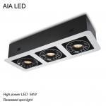 Best Indoor adjustable 54W COB LED down light for bedroom center use wholesale