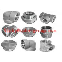 Best Stainless Steel Pipe Fitting Forged UNS N08800 Threaded 90 Degree Elbow wholesale