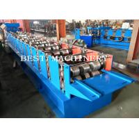 China Roof 350H Steel Ridge Cap Roll Forming Machine With PLC Control , CE / ISO on sale