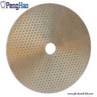 Best Abrasive Material Diamond Disc Dental , Diamond Polishing Disc Trimmer Consumables wholesale