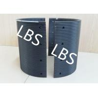 Best Black Polymer Material Bolted Connection Winch Drum Sleeves wholesale