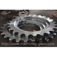 Quality Non - Standard Aluminum Motorcycle Chain Sprockets Industrial Machinery Parts wholesale