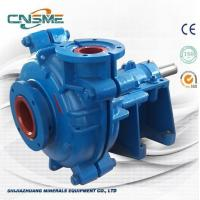 Best 6 / 4 D - AH Metal Slurry Pump Horizontal Type Heavy Duty  for Quarries Quality Made in China wholesale