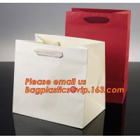 Best Luxury shopping paper bag, different types design custom paper shopping bag wholesale