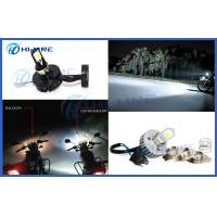 Best H4 Cree Led Motorcycle Headlight Bulbs , Car Headlight Bulbs Black High Low Beam wholesale