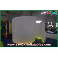 Best 3*2.7*1.5m Spiral Inflatable Photo Booth With Led Light For Event wholesale
