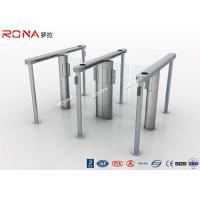 Best Pedestrain Control Fingerprint Automatic Swing Gates Turnstile Flexible Extendibility wholesale