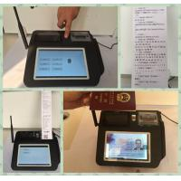 Quality Multi Language Mobile Payment Solutions , Wireless Payment Terminal  for Credit Card Merchant Services wholesale