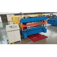 Best Roof Sheet Sandwich Panel Making Machine Double Layer Type 3 Tons / Day Production Capacity wholesale