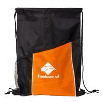 Best New Hot Selling Polyester Drawstring Bag with Pocket-HAD14022 wholesale