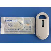 Radio Frequency Identification Animal ID Microchip 125Khz With Mini Size