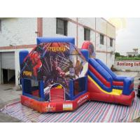 Cheap Fireproof Inflatable Advertising Bouncer Helium PVC Colorful B1 Certifications for sale