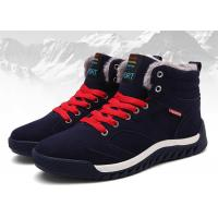 Best Warm / Comfortable Mens Winter Work Shoes , Cow Suede Safety Shoes OEM / ODM  Available wholesale
