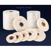 Buy cheap Cotton Buffing Cloth Wheel for Jewelry Polishing/dental polishing cotton wheel from wholesalers