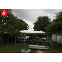 China Custom Curved Peak Flat Aluminum Roof Frame Truss Structure With Tent on sale