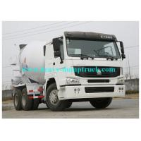 Best SINOTRUK HOWO 6x4 concrete mixer truck 9 cbm tank body 336 horse power wholesale