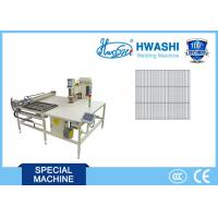 Quality HWASHI CE Approval CNC Welding Machine , Automatic Welded Wire Mesh Machine wholesale