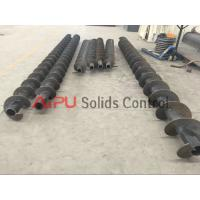 Cheap High efficiency drilling waste auger screw conveyor for sale at Aipu solids for sale