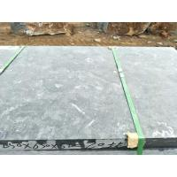 China Durable Unpolished Swimming Pool Coping Stones Blue Limestone Tiles And Slab for sale