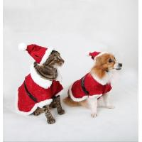 Red Christmas Dog Clothes Winter