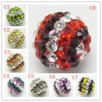 Best Wholesale Crystal Pave Beads,Pave Shamballa Ball handmade Jewelry 10-16mm wholesale