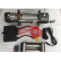 Best Off Road Handlebar Mini Winch Electric Automotive 12v 24v 8000lbs For ATV wholesale