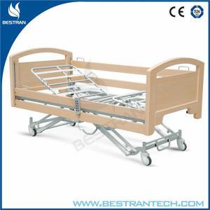 China Electric Adjustable Medical Beds / Nursing Home Beds Central-controlled Braking on sale