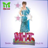 Best Lifesize Cutouts Promotion POP Advertising Display Stands In Hign Class Music Hall wholesale