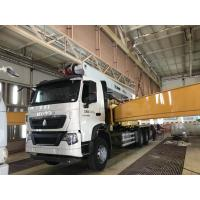 XCMG 53M Truck Mounted Concrete Construction Equipment With SINOTRUK Chassis