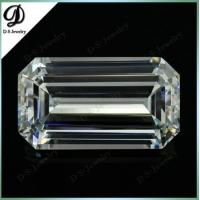China Emerald Cut Octagon Shape CZ Jewellery Wholesale on sale