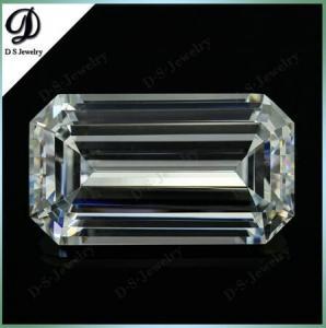 China Emerald Cut Octagon Shape CZ Jewellery Wholesale on sale