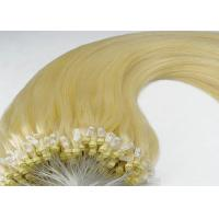Best Hot Selling 100 Remy Human Micro Ring Indian Remy Hair Extensions For Women wholesale