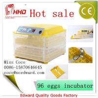 Best Cheap Mini Poultry Full automatic poultry egg incubator setter hatcher transparent For Sale with CE Approved wholesale
