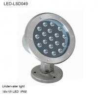 Best High quality 18W outside IP68 LED Underwater light for fountain wholesale